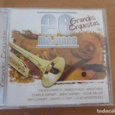 CDs de Música: 20 MEJORES GRANDES ORQUESTAS 0040 OK RECORDS GLENN MILLER XAVIER CUGAT PEREZ PRADO RAY CONNIFF . Lote 180422666