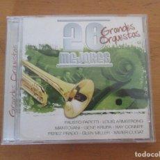CDs de Música: 20 MEJORES GRANDES ORQUESTAS 0039 OK RECORDS GLENN MILLER XAVIER CUGAT PEREZ PRADO RAY CONNIF. Lote 180422745