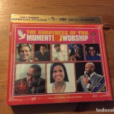CDs de Música: THE GREATNESS OF YOU MOMENT OF WORSHIP 2XCDS VARIOUS ARTISTS UNIVERSAL. Lote 180422883