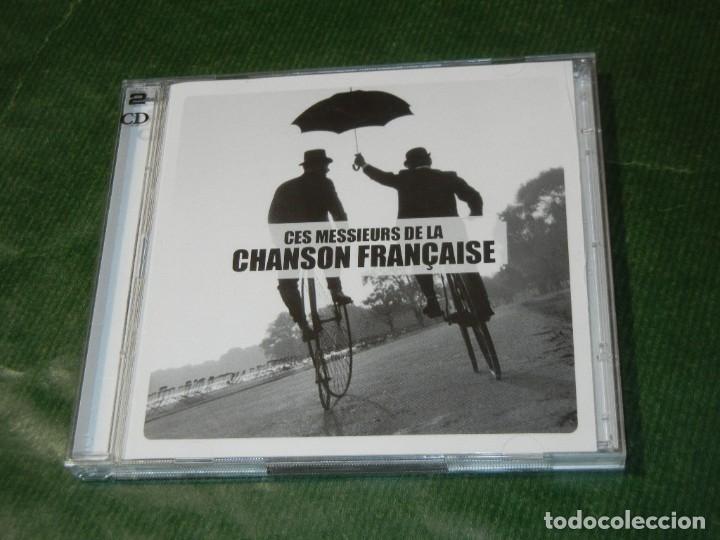 CES MESSIEURS DE LA CHANSON FRANÇAISE - 2 CD - 2010 (Música - CD's Melódica )