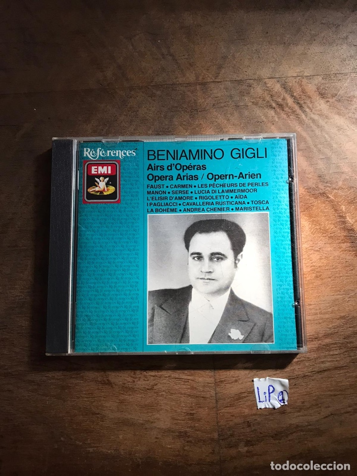 BENIAMINO GIGLI (Música - CD's Otros Estilos)