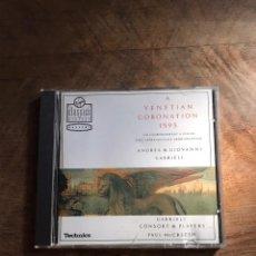 CDs de Música: A VENETIAN CORONATION 1545. Lote 180426467