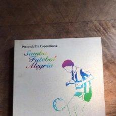 CDs de Música: SAMBA FUTEBOL ALEGRIA. Lote 180426986