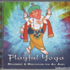 CDs de Música: PLAYFUL YOGA - MOVEMENT & MEDITATION FOR ALL AGES / CD DE 2011 RF-3170 , PERFECTO ESTADO. Lote 180442308