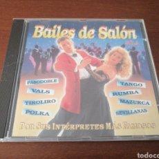 CDs de Música: BAILES DE SALÓN VOL 3 DIVUCSA 1996. Lote 180443882
