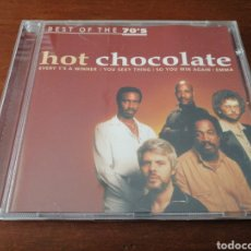 CDs de Música: HOT CHOCOLATE BEST OF THE 70'S DISKY 2000. Lote 180450143