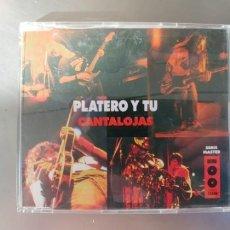 CDs de Música: PLATERO Y TU-CD CANTALOJAS-4 TEMAS. Lote 180455798