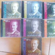 CDs de Música: ALFREDO KRAUS-CDS 7 PIEZAS-HOMENAJE A UNA VOZ 1927-1999 . Lote 180456498