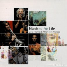 CDs de Música: MANTRAS FOR LIFE - DEVA PREMAL & MITEN WITH MANOSE / CD DIGIPACK RF-3173. Lote 180457406