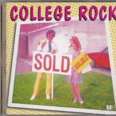 CDs de Música: COLLEGE ROCK - MUSIC HOUSE MHE 86 - BEATS, EFECTOS DE SONIDO, ETC - CD. Lote 180458692