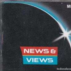 CDs de Música: NEWS & VIEWS - MUSIC HOUSE MHE 85 - BEATS, EFECTOS DE SONIDO, ETC - CD. Lote 180460302