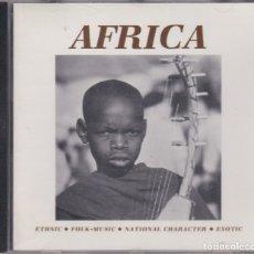 CDs de Música: AFRICA - SELECTED SOUND CD 77083 - BEATS, EFECTOS DE SONIDO, ETC. . Lote 180460536