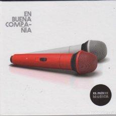 CDs de Música: EN BUENA COMPAÑIA CD LIBRO EL PAÍS 2014 LOQUILLO BUNBURY PEREZA MIGUEL RÍOS MIGUEL BOSÉ. Lote 180460650