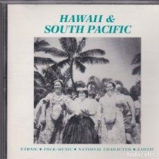 CDs de Música: HAWAII & SOUTH PACIFIC - SELECTED SOUND CD 77089 - BEATS, EFECTOS DE SONIDO, ETC. . Lote 180460700