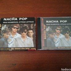 CDs de Música: GRANDES CLÁSICOS DEL POP Y EL ROCK DE AQUÍ 6 NACHA POP MÁS NÚMEROS, OTRAS LETRAS DRO 2002. Lote 180461702