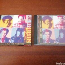 CDs de Música: GRANDES CLÁSICOS DEL POP Y EL ROCK DE AQUÍ 12 LOS RODRÍGUEZ SIN DOCUMENTOS DRO 2002. Lote 180463046