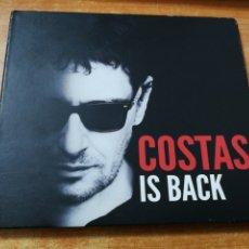 CDs de Música: COSTAS IS BACK MIGUEL COSTAS CD ALBUM DIGIPACK 2011 SINIESTRO TOTAL EDURNE ROSENDO VEGA BIMBA BOSE. Lote 180463147