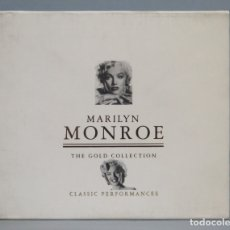 CDs de Música: CD. MARILYN MONROE. GOLD COLLECTION. CLASSIC PERFORMANCES. Lote 180464001