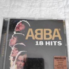 CDs de Música: ABBA - 18 HITS (VER CANCIONES SON DIFERENTES, VER FOTOS ) - CD ALBUM. Lote 180464477
