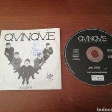 CDs de Música: CD SINGLE QUINQUE RECUERDOS DEL FUTURO AÑO 2000 QVINQVE PEP'S RECORDS 1999. Lote 180465483