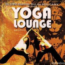 CDs de Música: YOGA LOUNGE - GLOBESONIC DJ ALSULTANY CD DIGIPACK RF-3177 , BUEN ESTADO. Lote 180466567