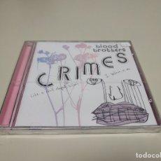 CDs de Música: JJ10- BLOOD BROTHERS CRIMES CD NUEVO PRECINTADO LIQUIDACION!!(NÚMERO DE ARTÍCULO: 163914949666). Lote 180470491