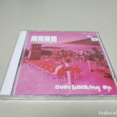 CDs de Música: JJ10- MOOP OVERBOOKING EP CD NUEVO PRECINTADO LIQUIDACION!!. Lote 180470798