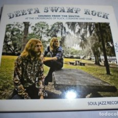 CDs de Música: MAGNIFICO DOBLE CD DELTA SWAMP ROCK,SOUNDS FROM SOUTH. Lote 180471043