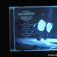 CDs de Música: MICHAEL JACKSON GREATEST HITS HISTORY VOLUME I - CD COMO NUEVO. Lote 180471867