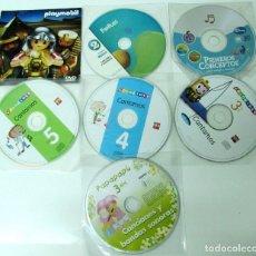 CDs de Música: LOTE 7 CD´S. COLORINES CANTAMOS 3, 4 Y 5 AÑOS. EDITORIAL SM - PLAYMOVIL DVD. DISNEY. PIXEPOLIS. Lote 180474026