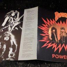 CDs de Música: MUSICA CD: PANTERA POWER METAL HEAVY. Lote 180481583