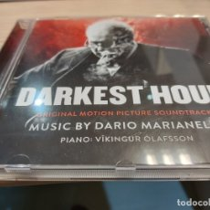 """CDs de Música: """"DARKEST HOUR"""" BANDA SONORA DE DARIO MARIANELLI. Lote 180497602"""