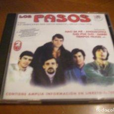CDs de Música: LOS PASOS / TODAS SUS GRABACIONES HISPAVOX Y ARIOLA 1966 1972 2 CD DOBLE. Lote 180503710
