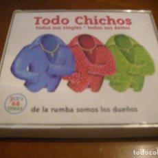CDs de Música: LOS CHICHOS / TODO CHICHOS 3 CD'S 66 TEMAS . Lote 180504780