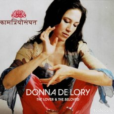 CDs de Música: DONNA DE LORY THE LOVER & THE BELOVED / CD DE 2004 RF-3180. Lote 180510800