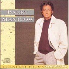 CDs de Música: BARRY MANILOW GREATEST HITS VOLUME II CD. Lote 180542218