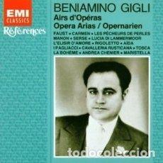 CDs de Música: BENIAMINO GIGLI OPERA ARIAS CD. Lote 180545011