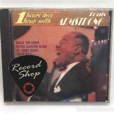 CDs de Música: CD LOUIS ARMSTRONG 1 HEURE AVEC IMPORTADO. Lote 180548297