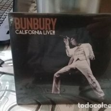 CDs de Música: BUNBURY (CD NUEVO 2018) CALIFORNIA LIVE. Lote 180548623