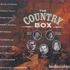 CDs de Música: CD THE COUNTRY BOX INT VARIOS TRIPLE CD. Lote 180565015