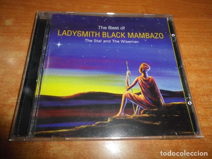 THE BEST OF LADYSMITH BLACK MAMBAZO THE STAR AND THE WISEMAN CD ALBUM 1998 SUDAFRICA PAUL SIMON RARO (Música - CD's World Music)