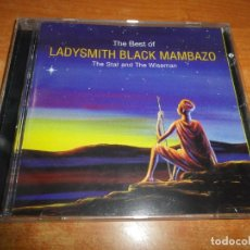 CDs de Música: THE BEST OF LADYSMITH BLACK MAMBAZO THE STAR AND THE WISEMAN CD ALBUM 1998 SUDAFRICA PAUL SIMON RARO. Lote 180602182