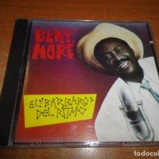 CDs de Música: BENY MORE Y SU BANDA GIGANTE EL BARBARO DEL RITMO CD ALBUM AÑO 1990 FRANCIA MUY RARO NUEVOS MEDIOS. Lote 180663762