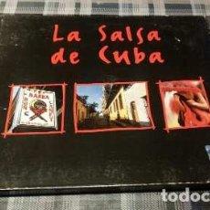 CDs de Música: LA SALSA DE CUBA - CD DIGIPACK WEA ARGENTINA. Lote 180677817