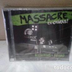 CDs de Música: MASSACRE (CD NUEVO 2018) RECUERDOS AL FUTURO. Lote 180729210