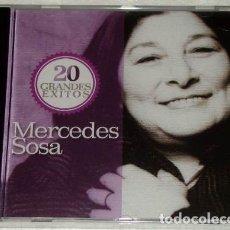 CDs de Música: MERCEDES SOSA 20 GRANDES EXITOS CD. Lote 180733305