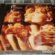 CDs de Música: PATRICIA KAAS - SCENE DE VIE - 1990 CD IMPORTADO UNICO. Lote 180758282