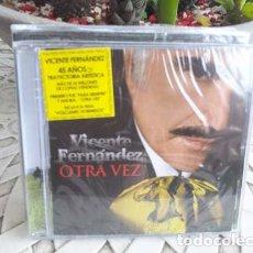 CDs de Música: VICENTE FERNANDEZ (CD NUEVO 2011) OTRA VEZ. Lote 180819076