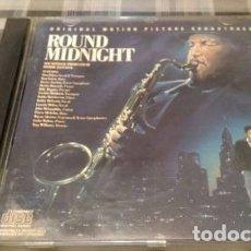 CDs de Música: ROUND MIDNIGHT - CD HERBIE HANCOCK - CD BANDA SONORA IMPORT. Lote 180820356