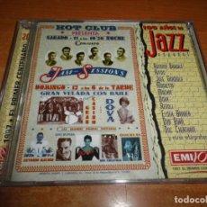 CDs de Música: 100 AÑOS DE JAZZ DOBLE CD ALBUM 1997 ESPAÑA ANTONIO BARDAJI JOSE GUARDIOLA MACHIN DOVA REGOLI 2 CD. Lote 180838188